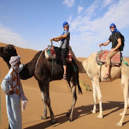 4 days from marrakech to fes desert Tour